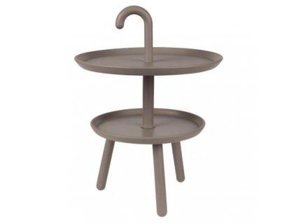 Odkládací stolek WLL Jonna, šedá
