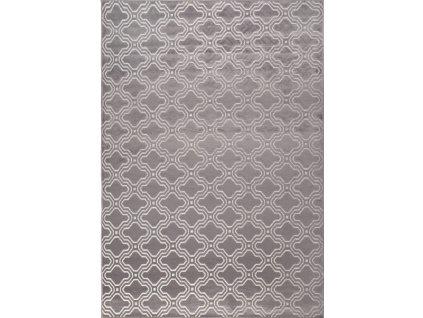 Vzorovaný koberec WLL Feike, šedý