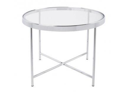 Konferenční stolek Grana O 60 cm, čirá