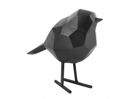 Černá dekorace Birdie M