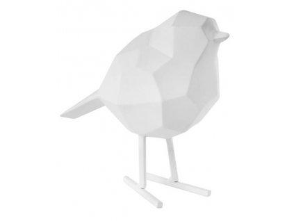 Bílá dekorace Birdie M
