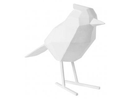Bílá dekorace Birdie L