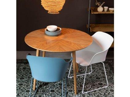 Modrá jídelní židle WLL Tango