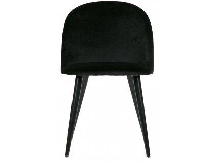 Antracitová židle