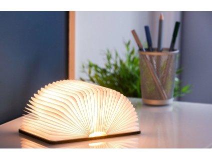 LED osvětlení Book v dekoru ořech