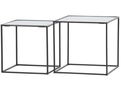 Set skleněných konferenčních stolků Milli