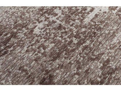 Hnědý koberec DUTCHBONE CARUSO 170x240 cm,abstraktní, výrazný vzor