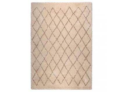 Hnědý koberec DUTCHBONE Jafar 160x230 cm