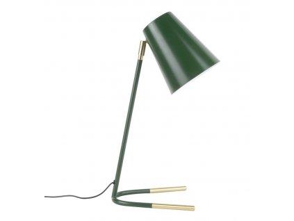 Zelená kovová stolní lampa Noemi
