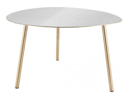 Bílý konferenční stolek Trinity
