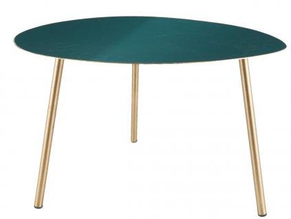 Zelený konferenční stolek Trinity