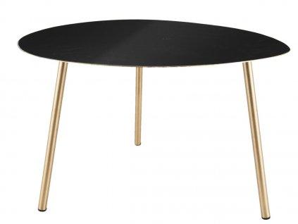 Černý konferenční stolek Trinity