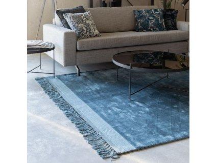 Modrý koberec ZUIVER Blink 170x240 cm