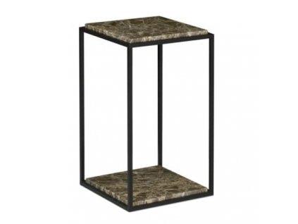 Odkládací stolek Gredo, hnědá
