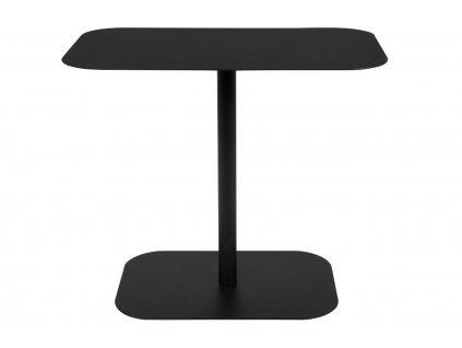 Odkládací stolek ZUIVER SNOW RECTANGLE černý