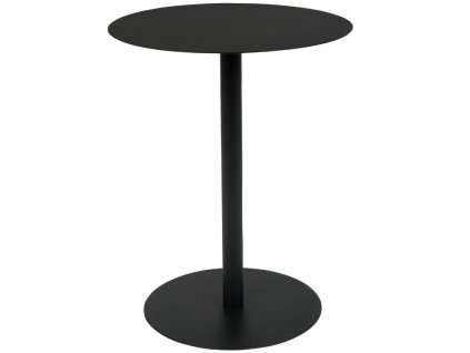 Černý odkládací stolek ZUIVER SNOW OVAL