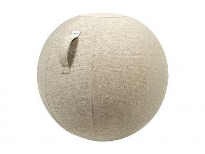 Béžový sedací / gymnastický míč  VLUV STOV Ø 65 cm