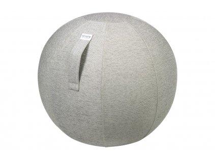 Betonově šedý sedací / gymnastický míč VLUV STOV Ø 75 cm