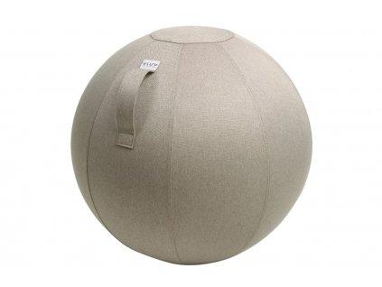 Béžový sedací / gymnastický míč  VLUV LEIV Ø 75 cm