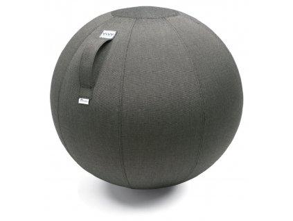 Sedací / gymnastický míč  VLUV AQVA O 65, tmavě hnědá