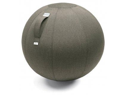 Sedací / gymnastický míč  VLUV AQVA O 65, hnědá