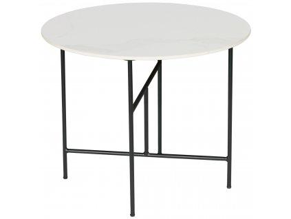 Bílý konferenční stolek Tatum 60 cm