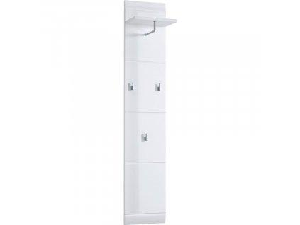 Bílý lesklý věšákový panel Germania Adana 3526 152 x 30 cm848x848 (1)