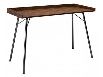 Hnědý dubový pracovní stůl Woodman Rayburn 115x52 cm