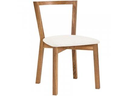 Přírodní dubová jídelní židle Woodman Cee