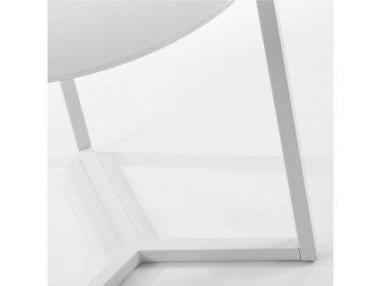 Bílý odkládací stolek LaForma Marae 50 cm