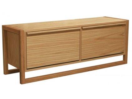 Přírodní dubová lavice Woodman NewEst