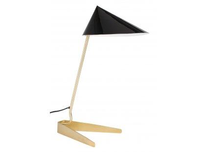 Černá stolní lampa  WLL Lizzy