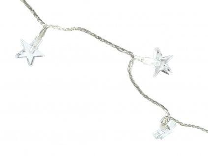 Vánoční světelný řetěz Star 590 cm