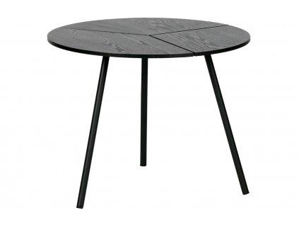 Černý dřevěný konferenční stolek Ramon 48 cm