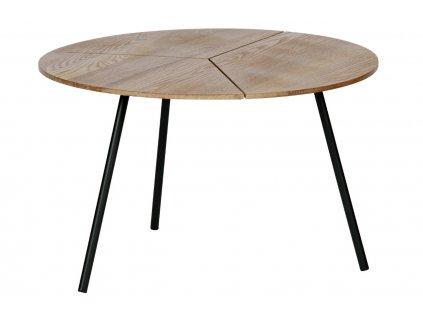 Hnědý dřevěný konferenční stolek Ramon 60 cm