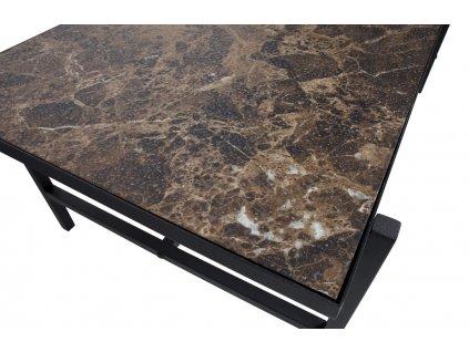 Odkládací stolek Dable 50 cm černý