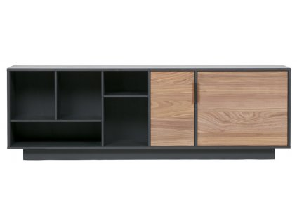Černá komoda Arthur 182 cm