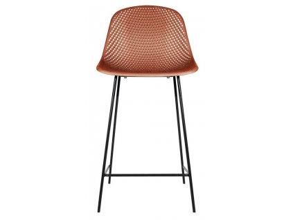 Barová židle Dylan, hnědá