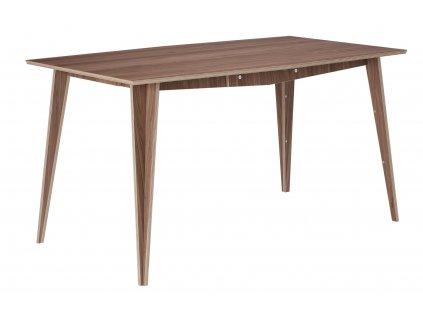Ořechový jídelní stůl Tabanda MACIEK 145x83 cm