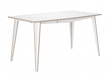Bílý jídelní stůl Tabanda MACIEK 175x85 cm