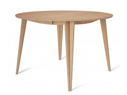 Dubový kulatý jídelní stůl Tabanda ROUND MACIEK 120 cm