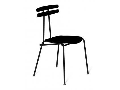 Černá dřevěná židle Tabanda Trojka All