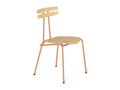 Židle Tabanda Trojka II., oranžová
