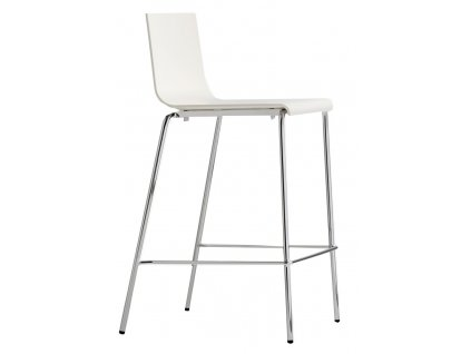Bílá barová židle Kuadra 1112