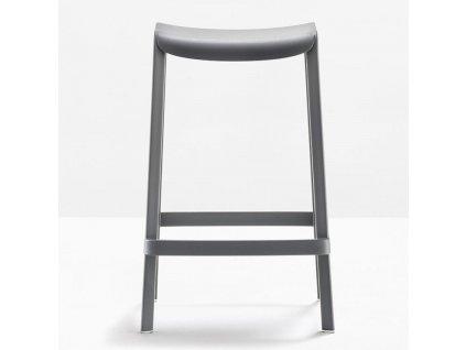 Zelená plastová barová židle Dome 267 65 cm