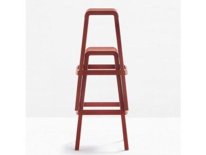 Barová židle Dome 268, bílá