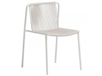 Bílá kovová zahradní židle Tribeca 3660
