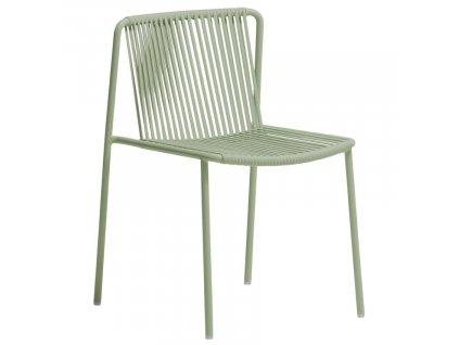 Zelená kovová zahradní židle Tribeca 3660