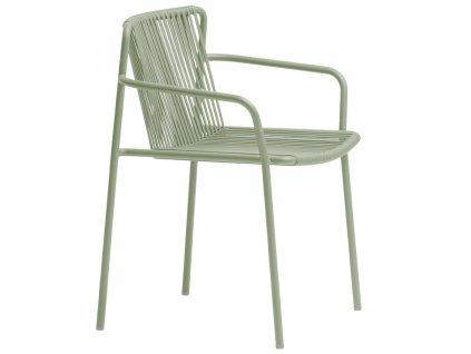 Zelená kovová zahradní židle Tribeca 3665