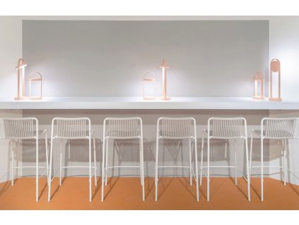Zelená kovová barová židle Tribeca 3667